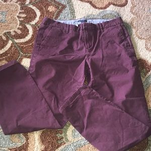 EUC WOMENS 10 STRAIGHT TOMMY HILFIGER COLORED PANT